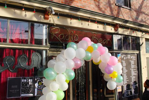 Radio Bean celebrates its 17th birthday with free coffee and live music Nov. 4. Live music included local band AM Radio along with over 90 other musical acts.