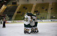 Women's hockey falls at home