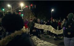 UVM Students Protest University President Tom Sullivan, Close Down Street