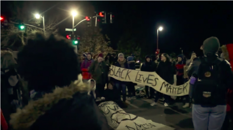 UVM students protest University President Tom Sullivan, close down street