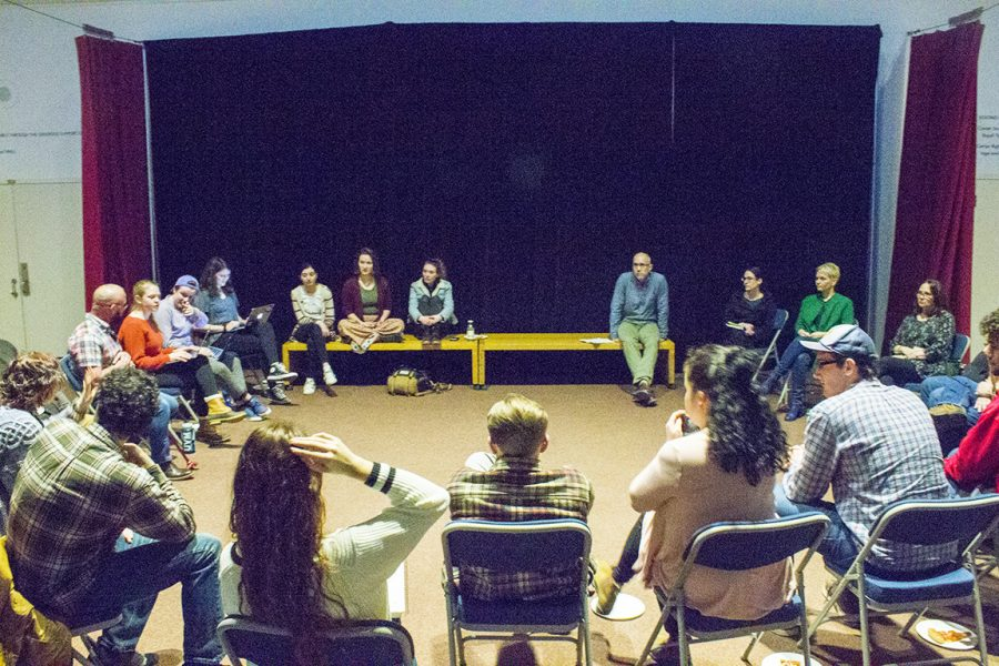 Theatre+students+and+faculty+discuss+diversity+Feb.+25