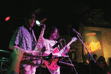 Winner of UVM Program Board's Battle of the Bands, Adventure Dog performed March 24 at Nectars on Main Street. The band will open for Playboy Carti at this year's SpringFest April 28.