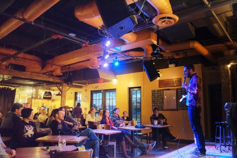 Nathan Hartswick, comedian and Vermont Comedy Club founder, performs March 26 at Comedy and Crepes, a weekly stand-up comedy series which meets Mondays at The Skinny Pancake.