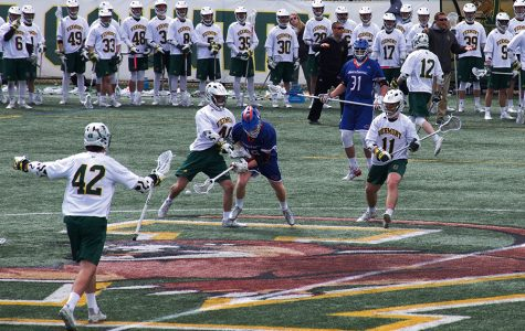 Men's lacrosse team uses strong defense to snag win
