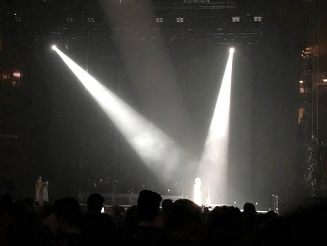 Lorde performs the song Buzzcut Season at her Melodrama World Tour show, April 3 at TD Garden. She has brought Khalid, Tove Styrke, Mitski and Run The Jewels for her opening acts on her seventy city tour across Europe and North America.