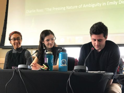Debut symposium gives English majors a voice