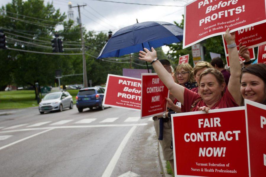 UVM Medical Center nurses announce plans to strike