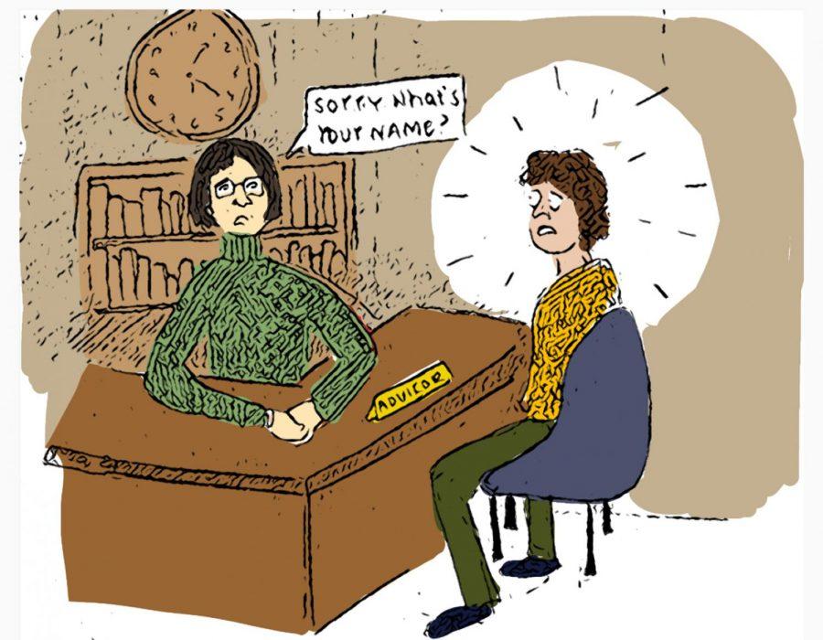 Students need helpful advisers