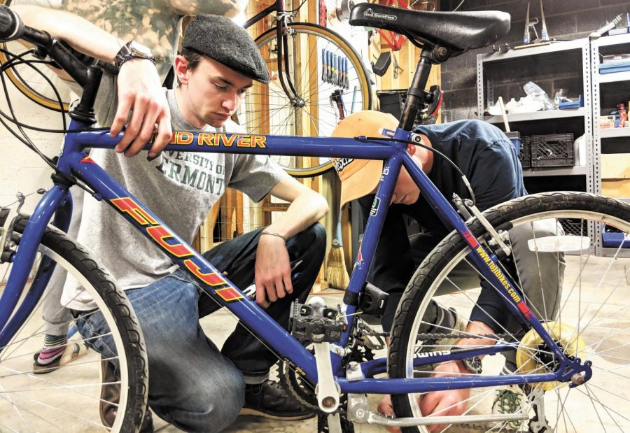 Rentals, repairs and more at the bike co-op