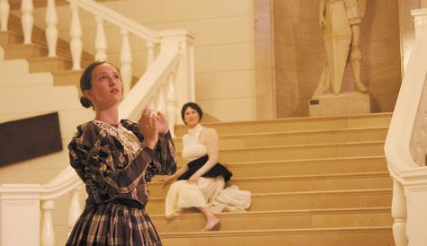 Dancers interpret victorian era