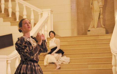 Dancers interpret victorian era