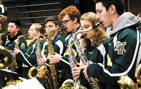Pep band brings energy & enthusiasm
