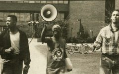 UVM student's protesting 1988