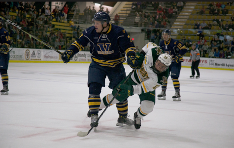 Men's hockey loses first home game