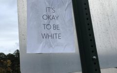 """It's okay to be white"" posters return to campus"