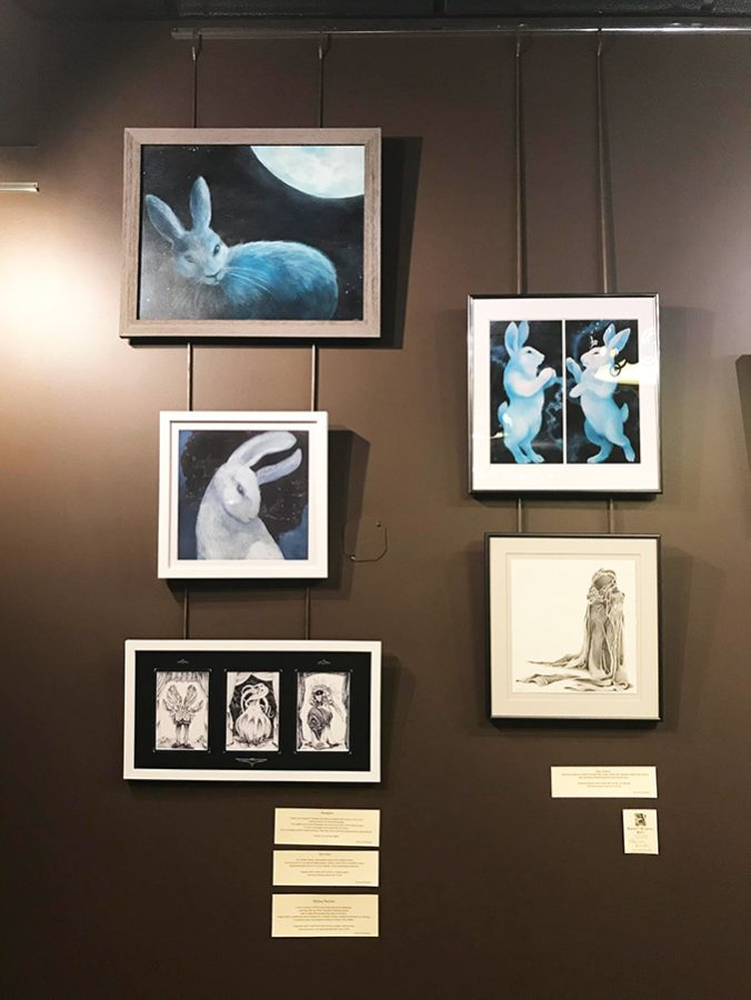 Student art on display in new Brennan's Art Space