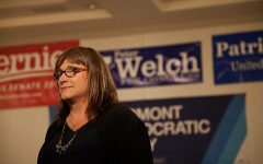 Election night in Burlington