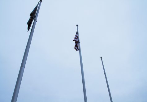 Flag raises concerns among students
