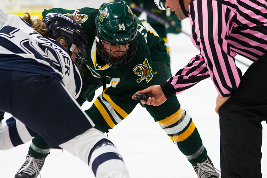 Women's hockey plays to fight cancer