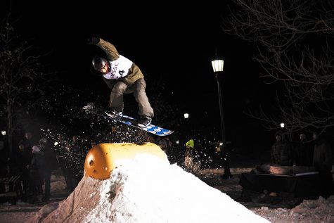 Rail Jam transforms Davis Center green