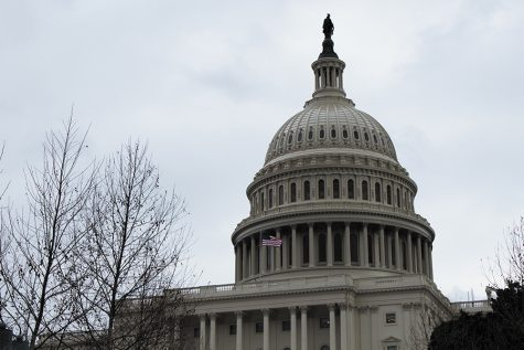 The United States Capitol Building located in Washington D.C. is home to the United States Congress. The current shutdown of certain federal departments and agencies could slow own research at UVM, but financial aid remains unaffected.
