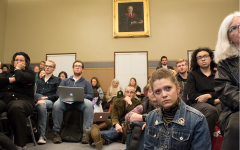 'They don't give a shit:' faculty union fills John Dewey Lounge to discuss cuts to the humanities