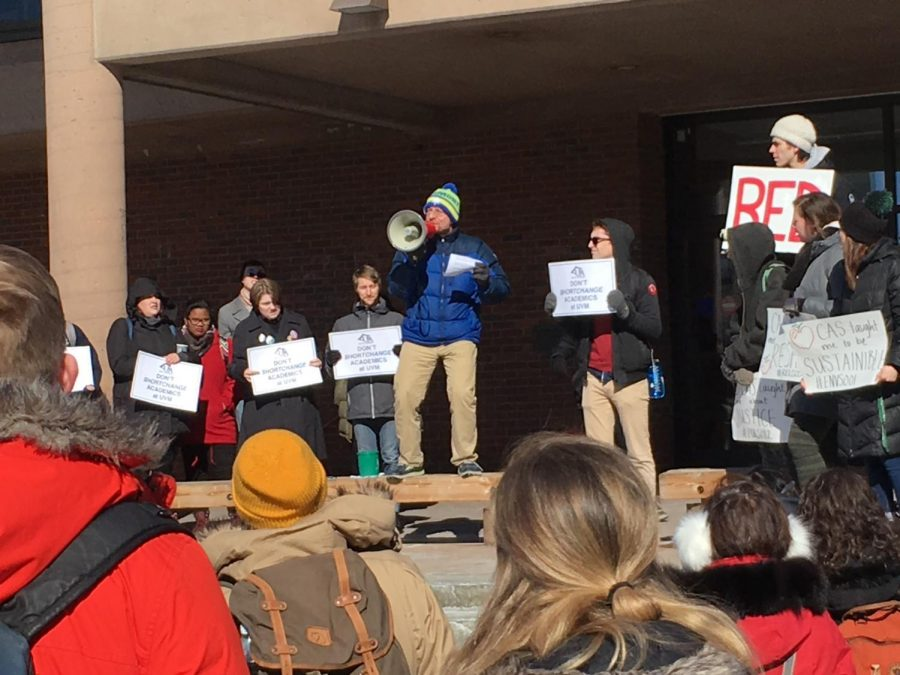 Students+and+faculty+rally+against+budget+cuts+at+Valentine%27s+Day+teach-in
