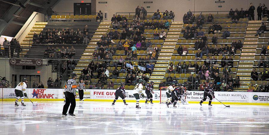 Women's hockey pack the gut event