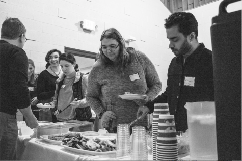 Dinner and Dialogue: Gathering for gratitude at the UVM Interfaith Center