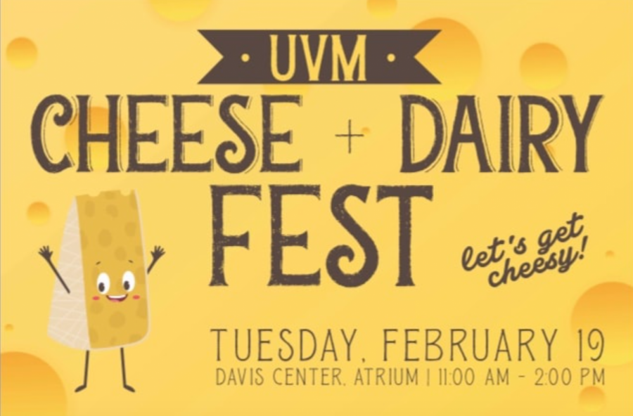 UVM Dining hosted its annual Cheese and Dairy Fest Feb. 19 in the Davis Center Atrium. The event was designed to promote cheese and dairy producers in the state of Vermont.