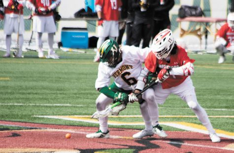 Men's lacrosse player has career score high