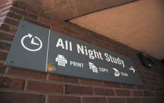 Budget cuts end 'All Night' study space in library