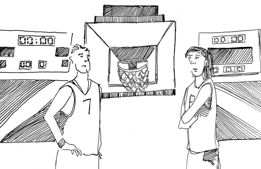 Gender ratios in intramural sports