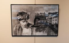 Alumni House exhibits student art for first time