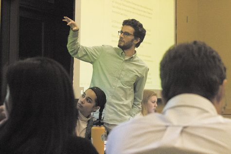 New Yorker journalist visits campus