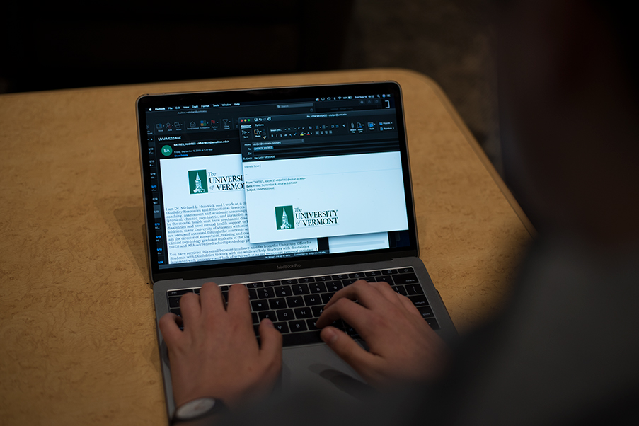 The latest email scam targeting UVM students was sent out Sept. 6. The email falsely offered an opportunity to work with disabled children on campus.