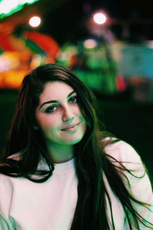 President of SAS Hannah Rose Arafeh, a Junior.