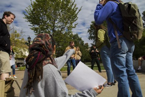 "University officials fire back at protestors: ""we don't police language, we do policy"""