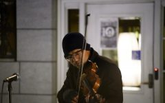 Composer performs in protest for 24 hours straight
