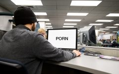 Can you watch porn in the Howe Library?