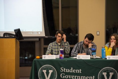 Candidates talk policy and principles at SGA debate