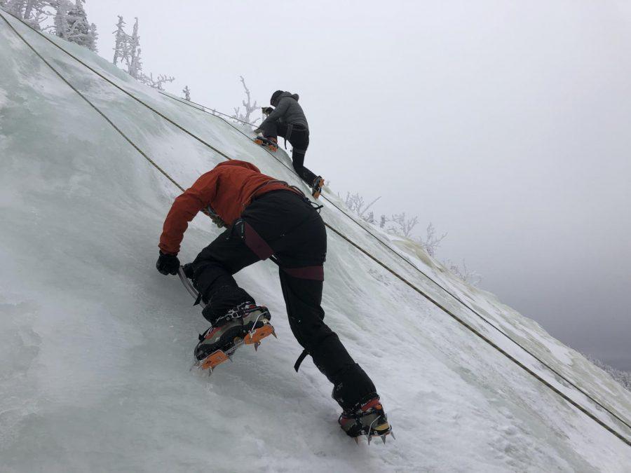 Winter course treks White Mountains