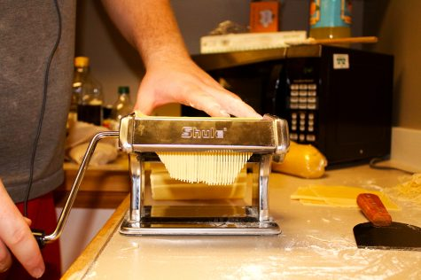 First-year pasta chef kneads and feeds