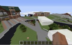 Students take to Minecraft to recreate their home away from home