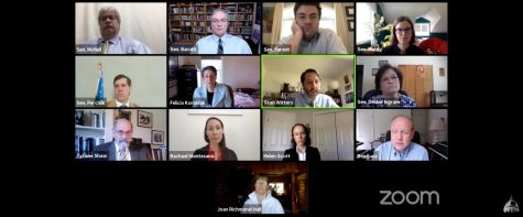 Members of the Vermont legislature met over Zoom May 21 and heard testimonies from four UVM professors.