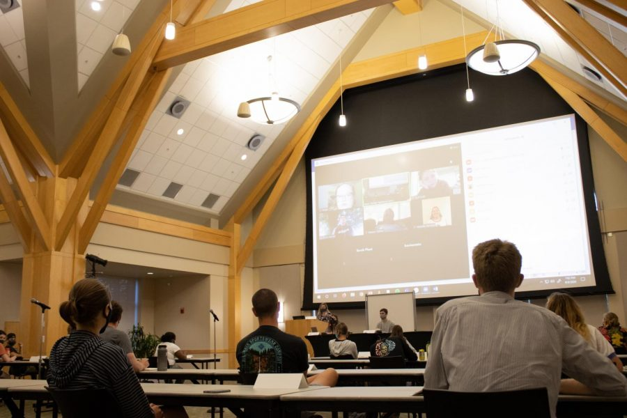 In first meeting of the year, SGA considers BLM demands for police reform