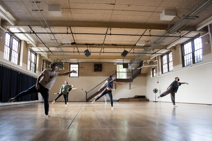 Dance students adjust to COVID regulations