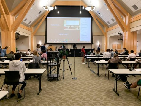 UVM's Student Government Association discussed student voting and changes to the former Clean Energy Fund at their weekly meeting Oct. 6.