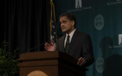 UVM President Suresh Garimella announced UVM will freeze tuition for the 2020-2021 school year at an Oct. 26 press conference, marking the third consecutive year of the school's tuition freeze. The president also announced a room and board freeze and a new scholarship for underrepresented students to attend UVM.