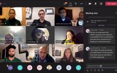 Members of UVM Athletics and the community discuss changes to sports at UVM in light of COVID-19 Oct. 13 over teams.